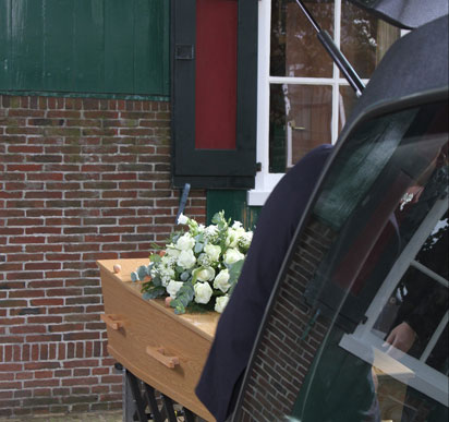 begrafenis t Noorderhuys
